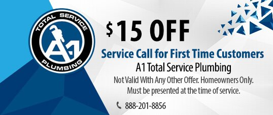 First time service call coupon