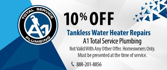 Tankless Water Heater Coupon Los Angeles