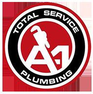 A1 Total Service Plumbing Logo